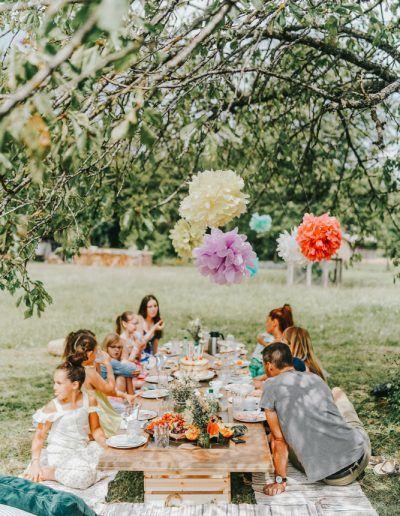 Kassiopeia - Feste für kleine Gäste | Kindergeburtstag mit Alpakas im Garten