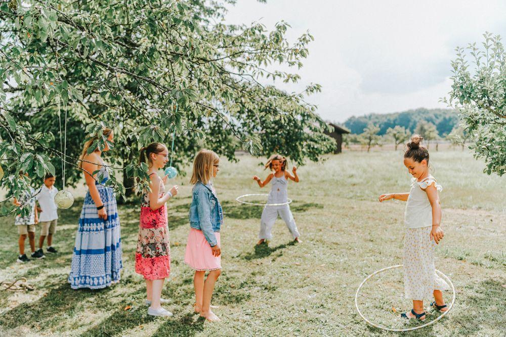 Kassiopeia Kindergeburtstag im Garten 27