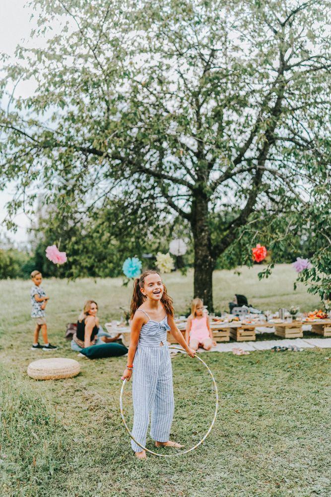 Kassiopeia Kindergeburtstag im Garten 45