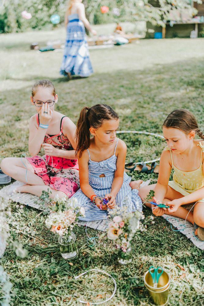 Kassiopeia Kindergeburtstag im Garten 76