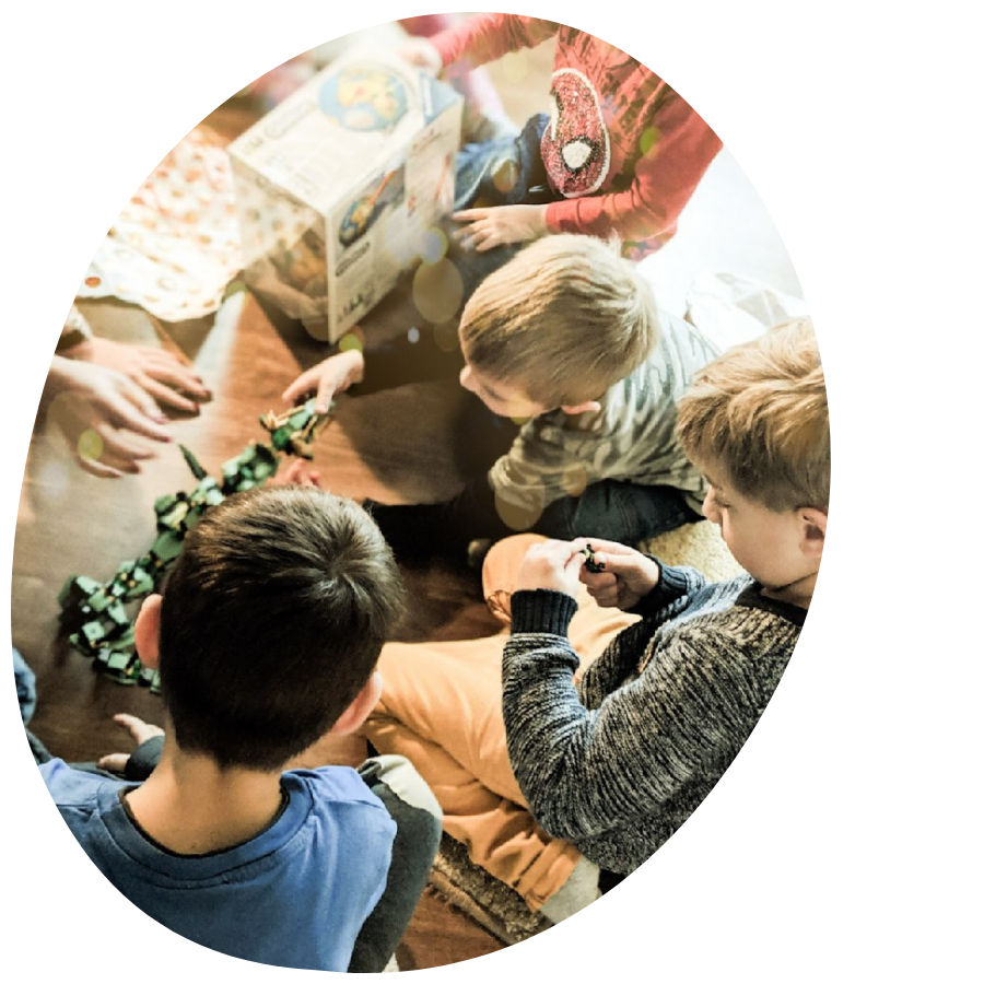 Kassiopeia Kindergeburtstag Sitzkreis Bild e1622924252494